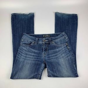 Silver Jeans Women's 28x32 Suki Denim Boot Cut